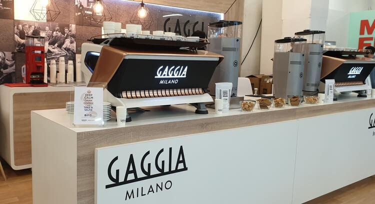 Gaggia Milano meets the London Coffee Festival